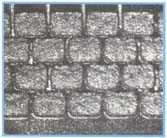 图二、塌落的锡膏沉积物